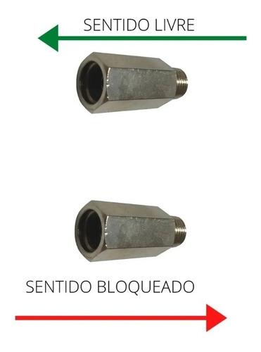 válvula de retenção pneumática m/f 1/4 npt p/ suspensão a ar