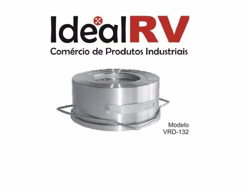 válvula de retenção tipo disco dcv 3 / vrd-132 3/4  wafer sf