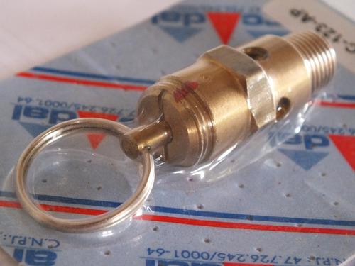 válvula de segurança para compressor de ar 120 lbs