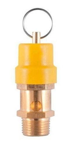 válvula de seguridad para compresor de 3/8  npt a 200 psi