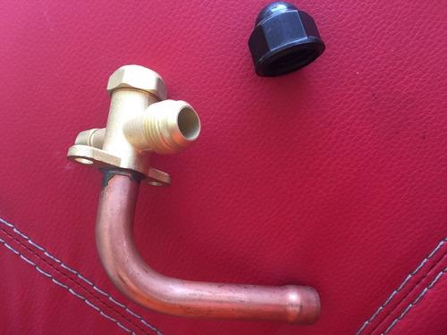 valvula de servicio 5/8  para condensador de minisplit