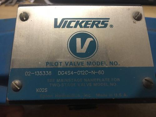 válvula direccional hidráulica vickers dg4s4-012c-n-60