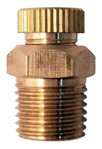 válvula dren / purga manual 1/4  para compresor