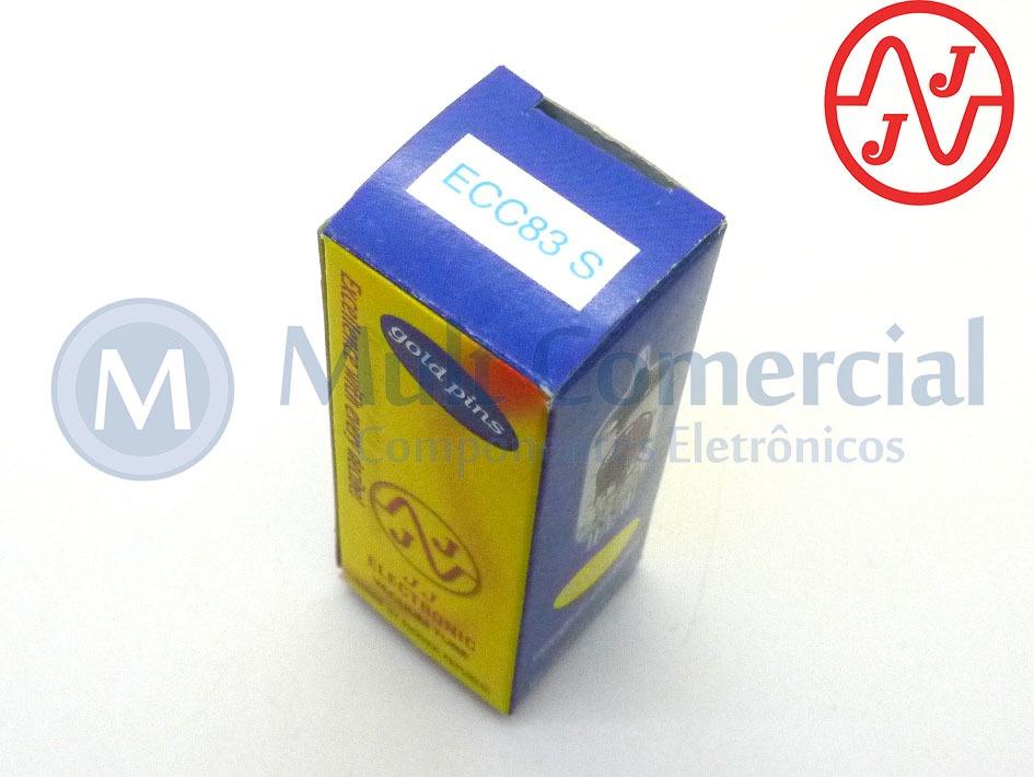 Válvula Duplo Triodo 12ax7 Ecc83s Jj Tesla Gold Pin