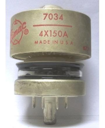 válvula eimac 4x150a - 7034 nova na caixa