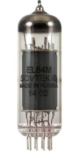 válvula el84 m 6bq5 sovtek made in russia amplificador