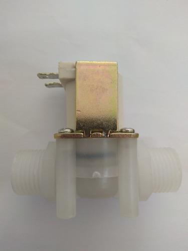 valvula electrónica solenoide 12v 1/2 electrovalvula agua