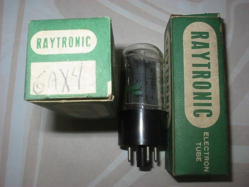 válvula eletrônica 6ax4 6dt4 6dq4 6dm4 6de4