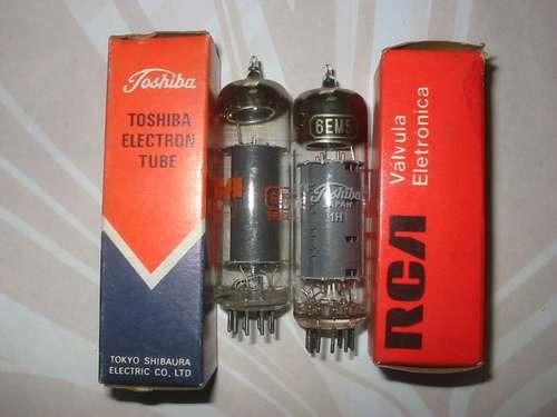 valvula eletronica  6em5  6dt5  6cz5