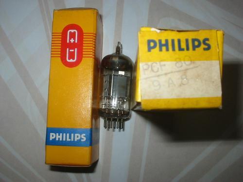 valvula eletronica pcf80 = 9a8, 9u8, 9ea8, 8a8, 9a8