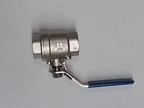 Valvula Esfera - Bola 3/4 - 1000 Psi Acero Inox 316