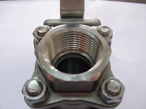 válvula esférica acero inoxidable 1