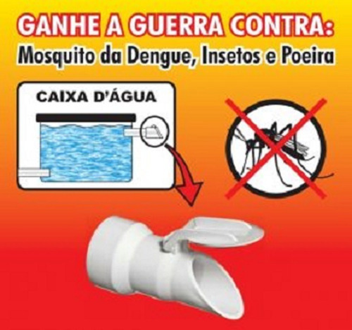 válvula extravasora ladrão caixa dagua 3/4 e 1'' anti dengue