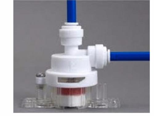 válvula filtro purificadores agua anti fugas bajo tarja