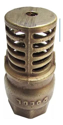 válvula fundo de poço 3 polegadas docol sucção retenção água