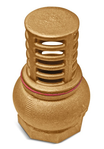 válvula fundo poço metal 2 carneiro hidraulico latão