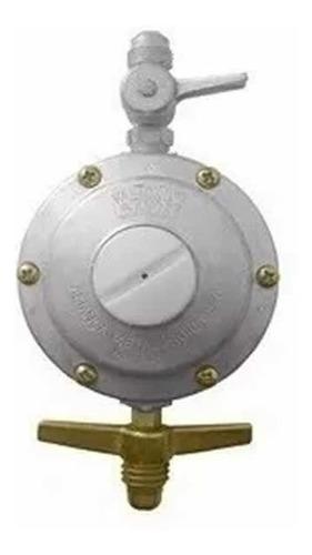 valvula galleta con regulador para garrafa de 3 kgs mf shop