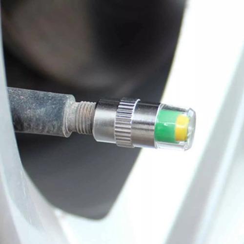 valvula indicador de presion aire llantas carro y moto 36psi