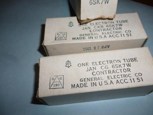 valvula jan 6sk7 general electric