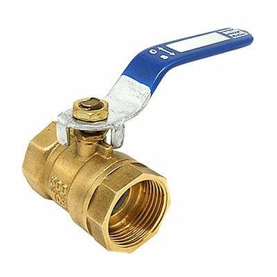 válvula llave esférica 2 1/2     pulgadas bronce para agua
