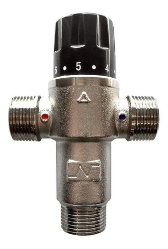 válvula mezcladora termostática de 3 vías 3/4''   - cuotas
