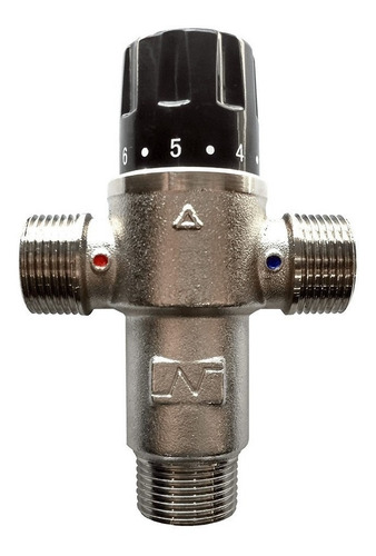 válvula mezcladora termostática de 3 vías 3/4''   - enertik