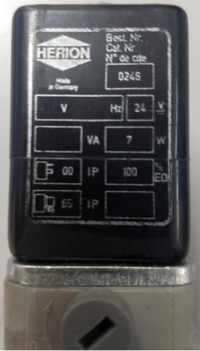 válvula neutmática herion 2637050 - 5/2wv - r1/2