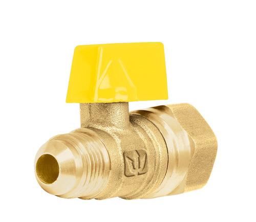 valvula o llave de control para gas estufa etc 1/2 a 3/8