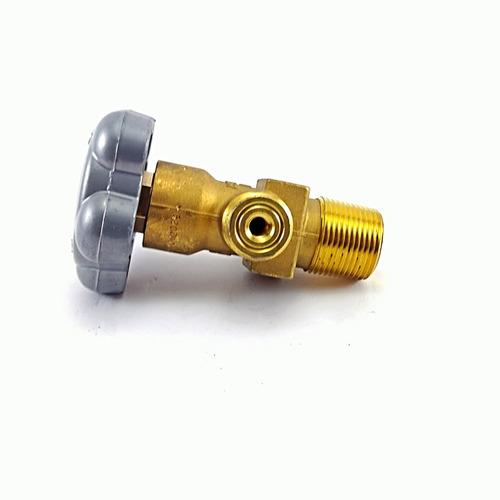 válvula para cilindro de c02