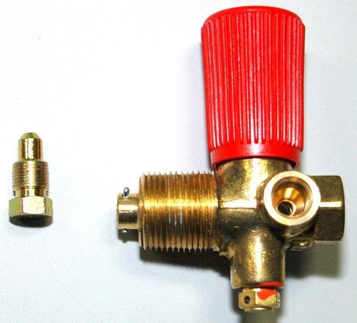 válvula para cilindro de gás natural veicular gnv