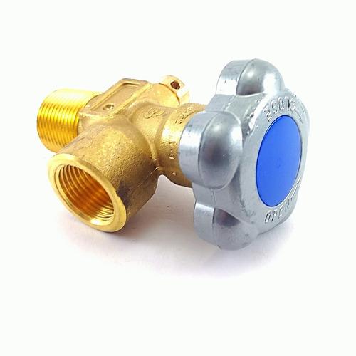 válvula para cilindro de gás nitrogênio