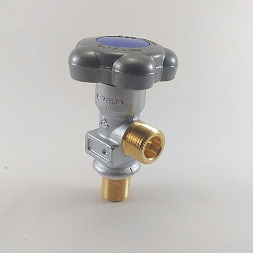 válvula para cilindro de oxigênio alumínio 3/4 16unf
