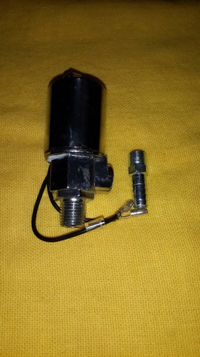 valvula para cornetas de aire 12 y 24v. valvula selenoide
