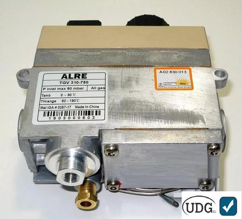 valvula para freidoras alre 710 tipo minisit termostatica