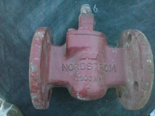 valvula para gas nordstrom modelo 200cwp. conexion brida 2