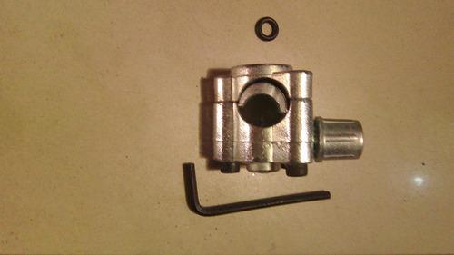 válvula pincha tubo