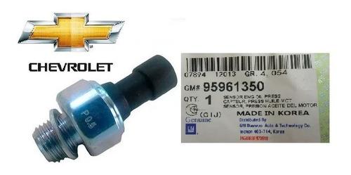 valvula presion aceite aveo optra corsa original gm 95961350
