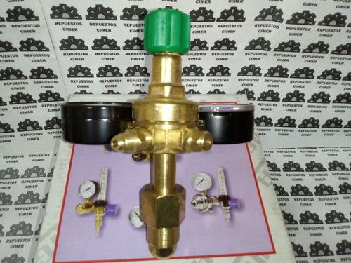 válvula reguladora de nitrógeno alta presión para r-410