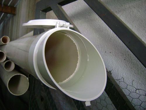 valvula retenção esgoto agua chuva estrela 100mm 4 polegadas
