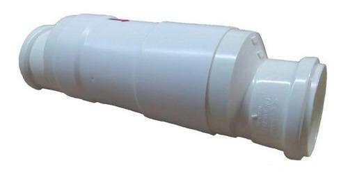 valvula retenção esgoto luva e redução 50mm 2 polegadas