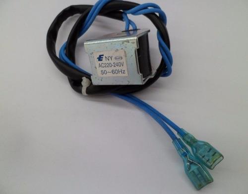 válvula reversible minisplit para 1 ton con bobina solenoide