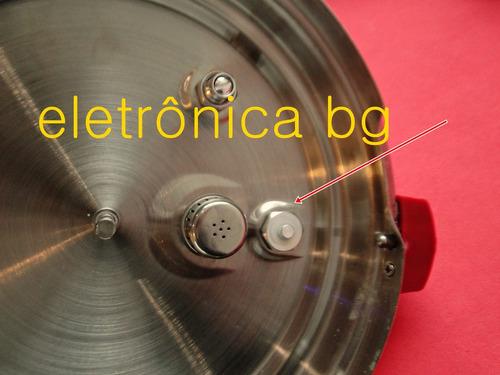 valvula segurança c/ vedação pino panela pressao philco 6l