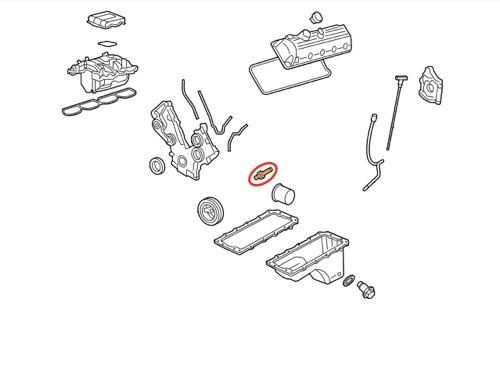 valvula sensor presion de aceite explorer triton fiesta