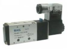 válvula simples solenóide bhs 4v210-06 1/8  5/2 vias