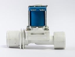 valvula solenoide 12v 3/4 p/ arduino  e sensor de nivel agua