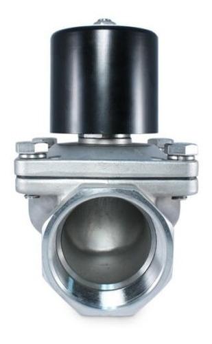 valvula solenoide 2 npt a inoxidable 120vac normal abierto