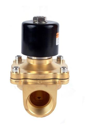 valvula solenoide 2/2 para gas de 1 alto caudal