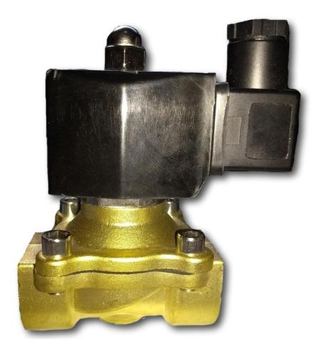 válvula solenóide 2/2 vias 1/2 normalmente fechada 220vca