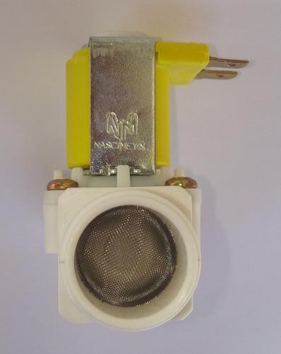 válvula solenoide 24v dc 3/4 - kit 3 peças