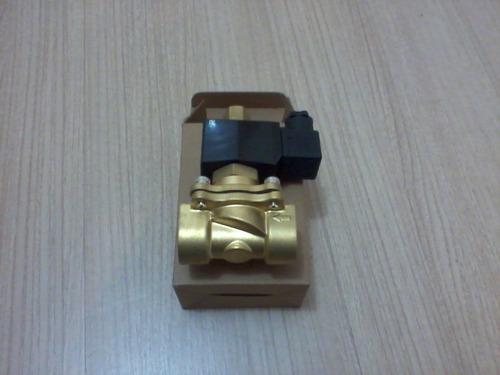 válvula solenóide 3/8 bsp p/ até 80°c 2/2 normalmente aberta